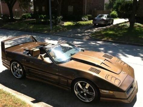 an ungainly custom c4 corvette: ebay find | gm authority