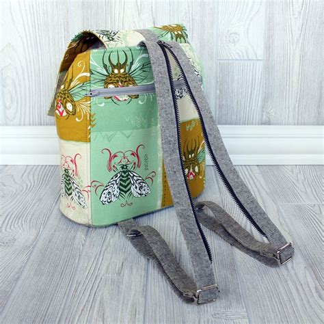 Embellish Luvy Mini Sling Bag backpack swoon sewing patterns
