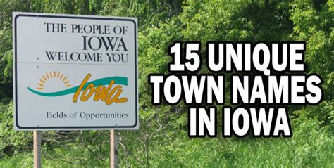 unique city names 15 unique town names in iowa iowa news qctimes com