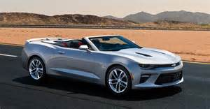 Chevrolet Convertible Cars 2016 Chevrolet Camaro Convertible Officially Revealed