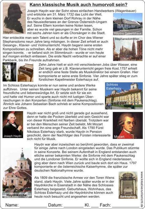 Lebenslauf Joseph Haydn joseph haydn lebenslauf bewerbung deckblatt 2018