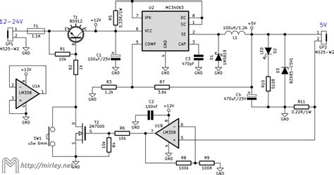 mc34063 inductor current mirley electronics programming