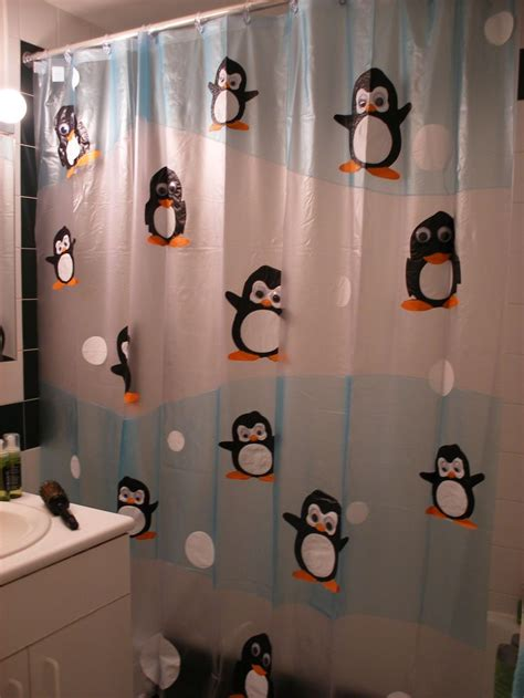 My Old Penguin Shower Curtain From Target I Don T Even