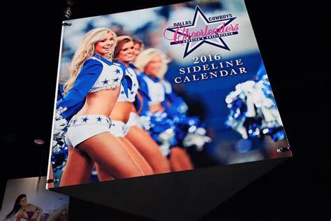 Dallas Cowboys Calendar Dallas Cowboys Swimsuit Calendar Release