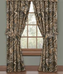 realtree max 4 curtains for outdoor enthusiasts window