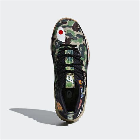 Bape X Play Green bape x adidas dame 4 green camo ap9974 black camo ap9975 release date sole collector