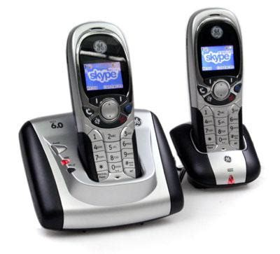 best skype phones ge dect 6 0 wireless handset for skype review rating