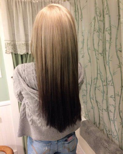 on my way to the reverse ombre look gray pride 48 looks with reverse ombre hair color pictures 2018