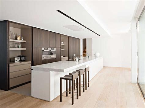 new modern kitchen design with white cabinets bring from modern brown kitchen design