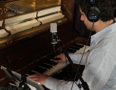 apogee electronics recording piano  mic apogee