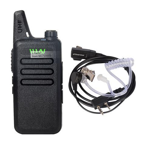 For Wln Walkie Talkie Two Way Radio 1 wln kd c1 uhf 400 470 mhz mini handheld transceiver two way ham radio communicator walkie talkie
