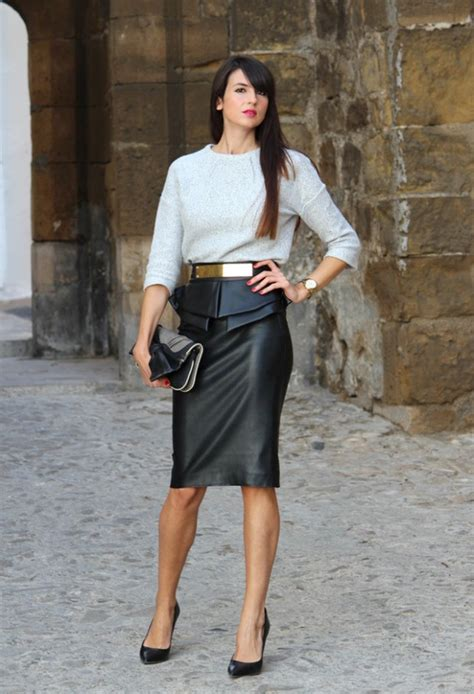 best blouse to wear with pencil skirt black blouse