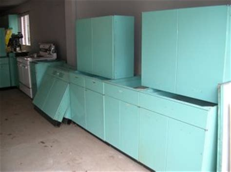 Metal Kitchen Cabinets For Sale by How Much Are My Metal Kitchen Cabinets Worth Retro