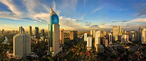 Jakarta City cityscapes indonesia cities skyline jakarta wallpaper