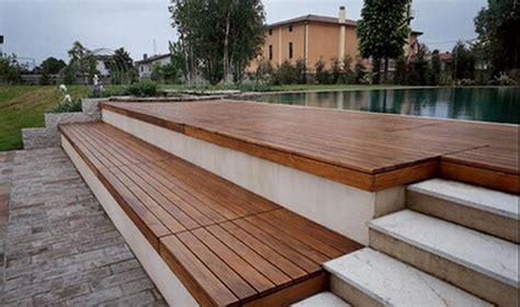 terrazze in legno da esterno pavimenti in legno per esterni