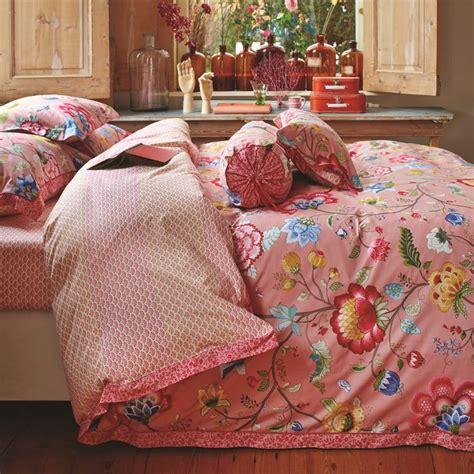 große bettdecke pip studio bettw 228 sche quot floral quot pink betten mit
