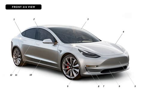 Tesla Design By Design Tesla Model 3 Automobile Magazine