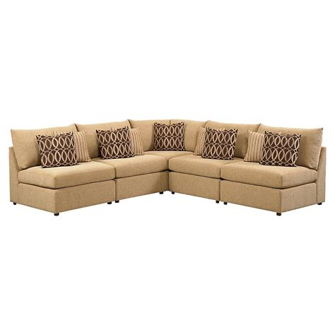 L Sectional Sofas by Beckham L Shaped Sectional Sofa By Bassett Furniture