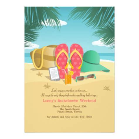 Beach Party Invitations & Announcements   Zazzle