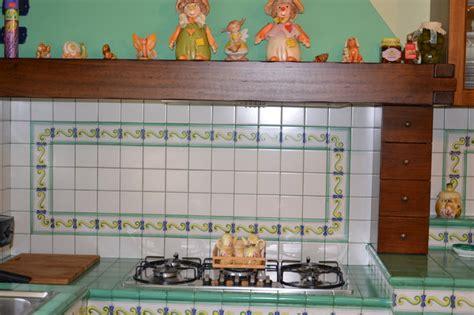 piastrelle vietri cucina cucina in ceramica di vietri