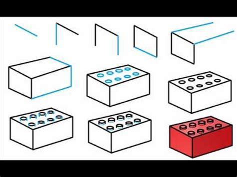 how to draw blocks lego block drawing www pixshark images galleries