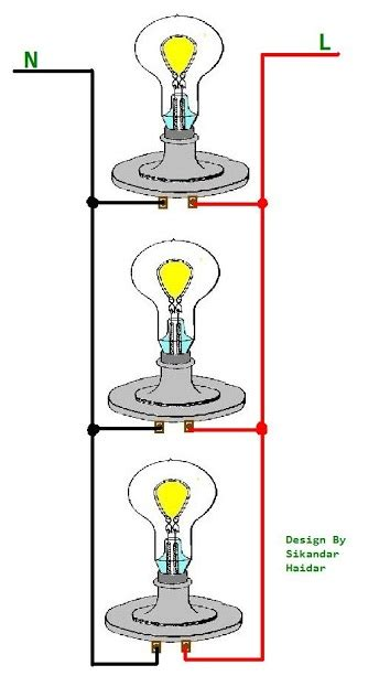 wiring lights in parallel connection diagram how to wire