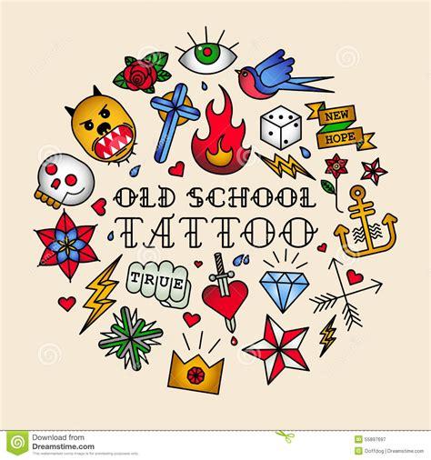 tattooing schools school illustrations vector