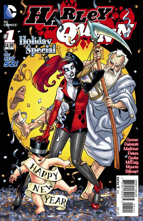 harley quinns cover gallery 1401274234 harley quinn holiday special 1 new years eve variant cover value gocollect com