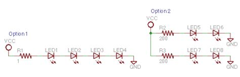 leds in parallel single resistor ask an educator how can i interface an led array to my el inverter 171 adafruit industries