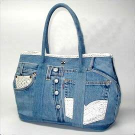 Tas Fashion Ohanel Ribbon Nv 421 best images about recycled bags on recycling jean bag and purses