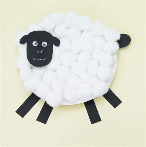 Paper Plate Sheep Craft - paper plate sheep craft this sheep is a brilliant