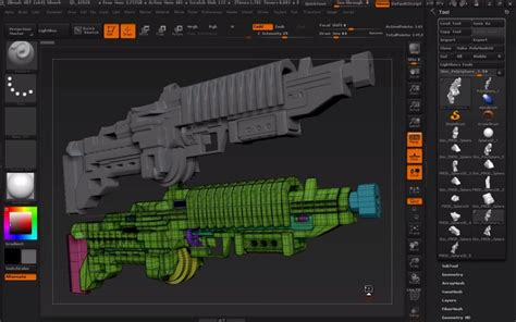 zbrush tutorial download free zbrush 4r7 feature zmodeler