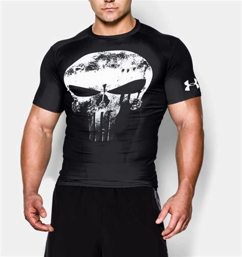 Kaos Punisher Armour Tshirt Tees T Shirt s armour 174 alter ego punisher compression shirt
