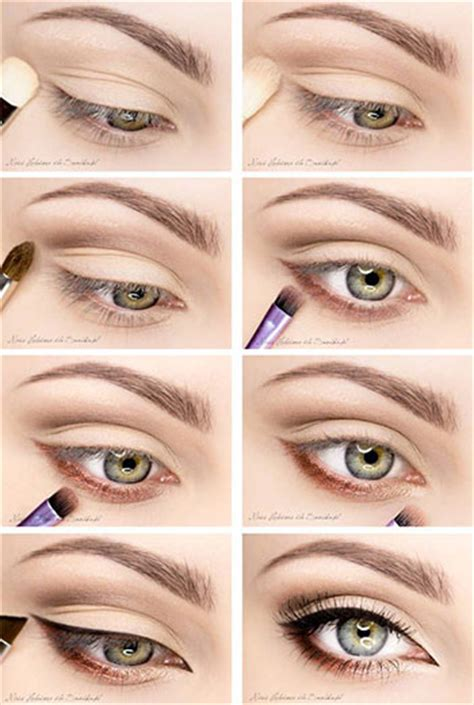 berbagai step by step tutorial eyeshadow natural vemale com 15 easy natural make up tutorials 2014 for beginners
