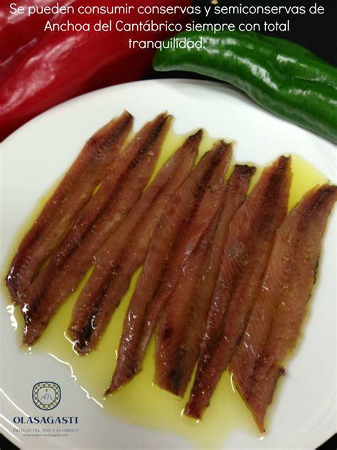 anchoas saladas anchoas olasagasti sin anisakis blog de conservas