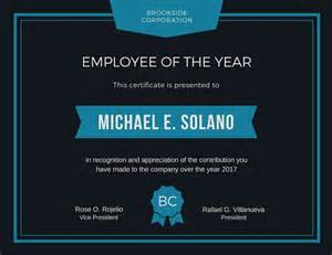 Employee Of The Year Certificate Template Free Cupcake Kid Contest Award Certificate Templates By Canva
