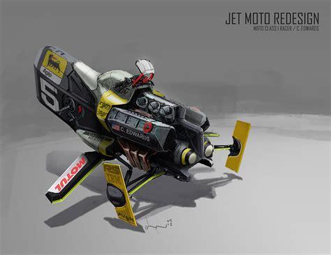 Jet Moto1 concept ships concept ships by ian galvin