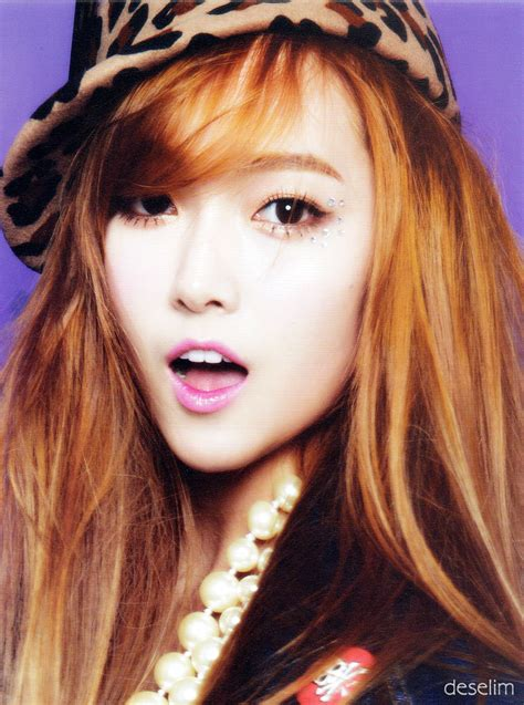 jessica jung i got a boy high light korean addict scan girls generation i got a boy