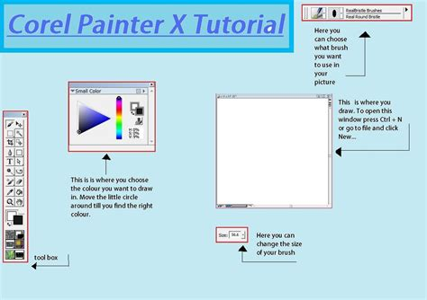 coreldraw expert tutorial getting started with corel painter 8 krepdachte