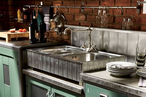 Vintage Looking Kitchen Cabinets Vintage And Industrial Style Kitchens By Marchi Adorable Home