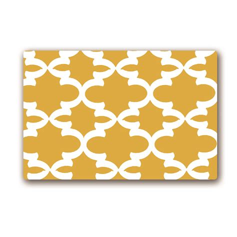 yellow kitchen floor mats yellow geometric rug promotion shop for promotional yellow