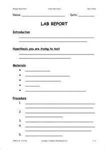 formal lab report template 6 formal lab report template printable receipt