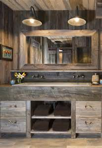 rustic bathroom lighting ideas best 25 rustic bathrooms ideas on country