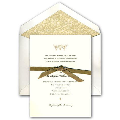 Traditional Wedding Invitations by Ecru Traditional Wedding Invitations Paperstyle