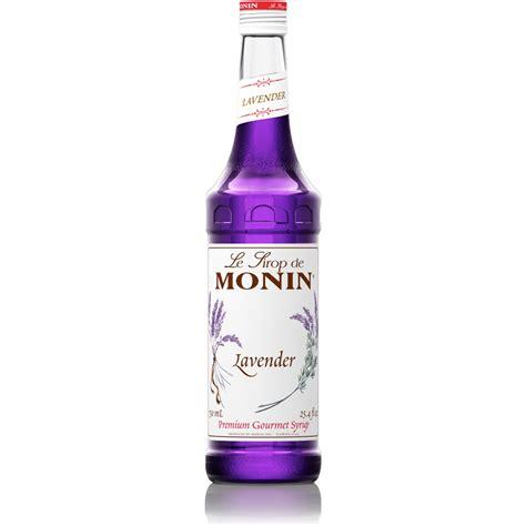 monin lavender syrup 750 ml bottle baristaproshop com