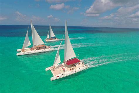 excursion en catamaran punta cana excursi 243 n a la isla saona desde punta cana en catamar 225 n