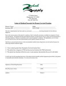 Letter Of Necessity Template by Letters Necessity Letter And Best Free Home