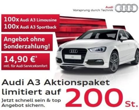 Audi A 3 Leasing by Audi A3 Leasing Deal F 252 R Privat Und Gewerbekunden F 252 R 169