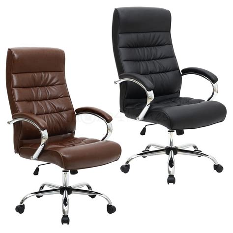 Office Chair Posture by Mexico Premium High Back Executive Leather Office Chair