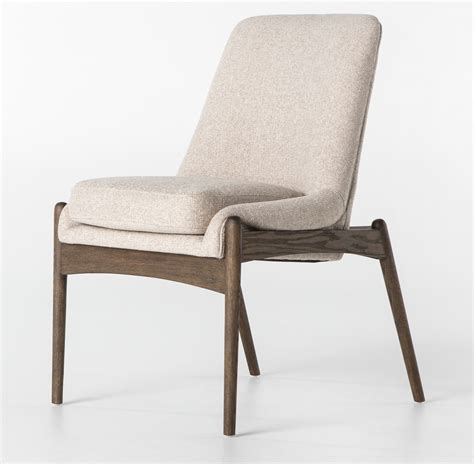 mid century dining chairs braden mid century modern upholstered dining chair zin home